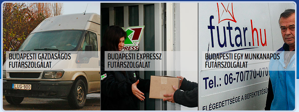 budapest futárszolgálat
